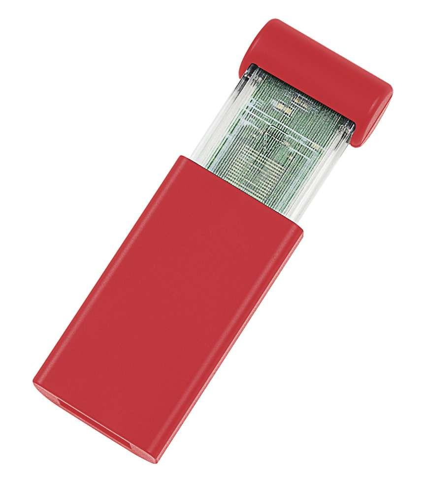 USB-флеш-карта Click, красная, 8 Гб