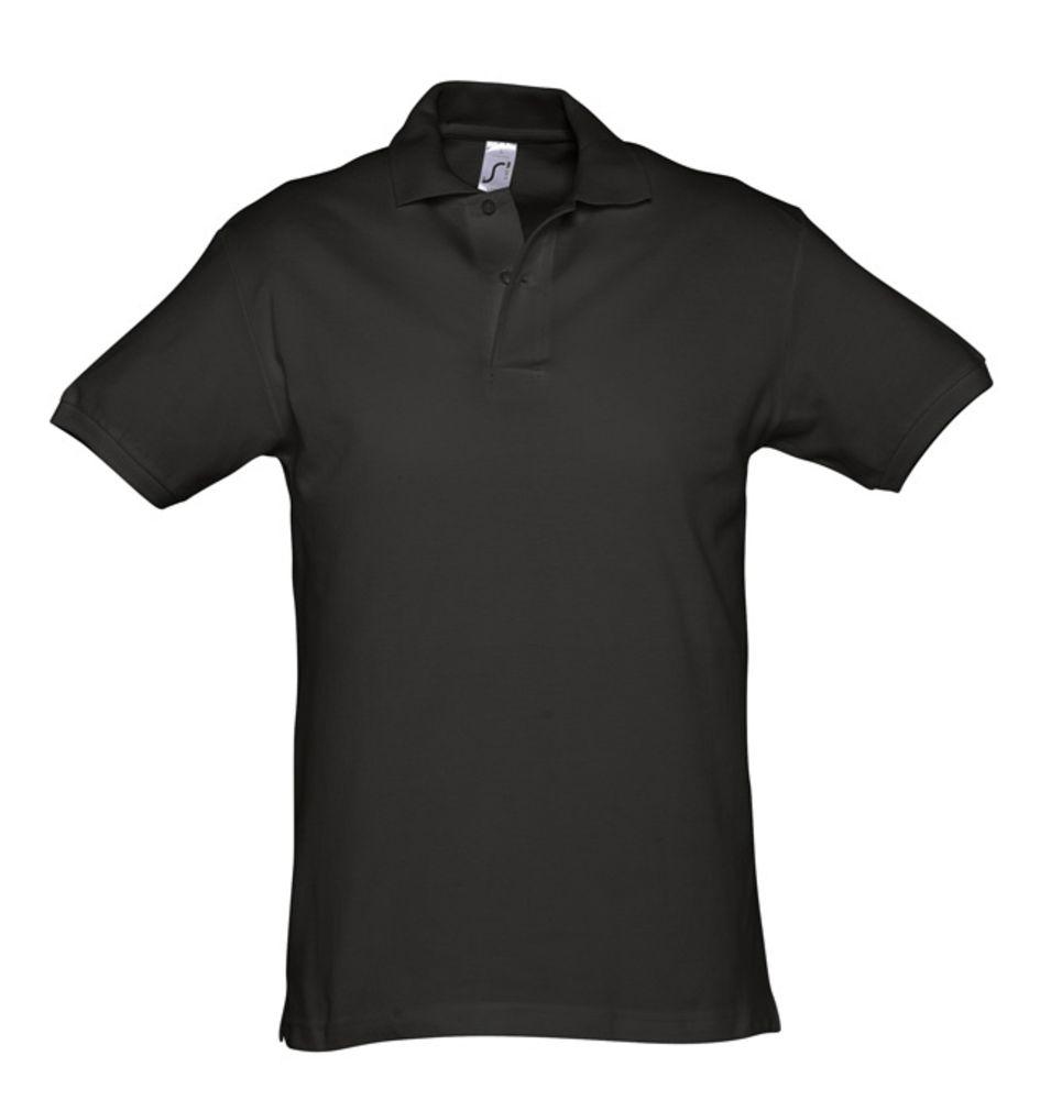 Рубашка поло мужская SPIRIT 240 черная
