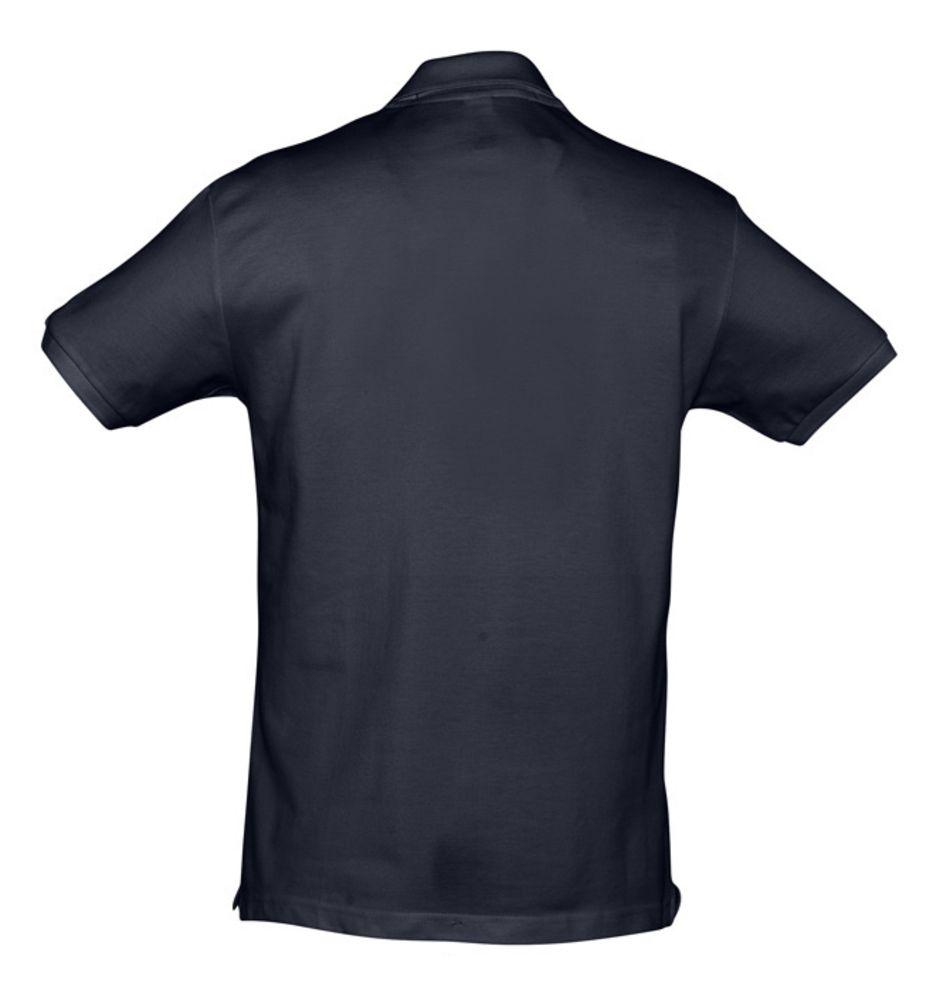 Рубашка поло мужская SPIRIT 240 темно-синяя (navy)