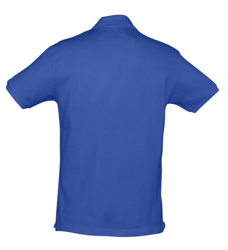 Рубашка поло мужская SPIRIT 240 ярко-синяя