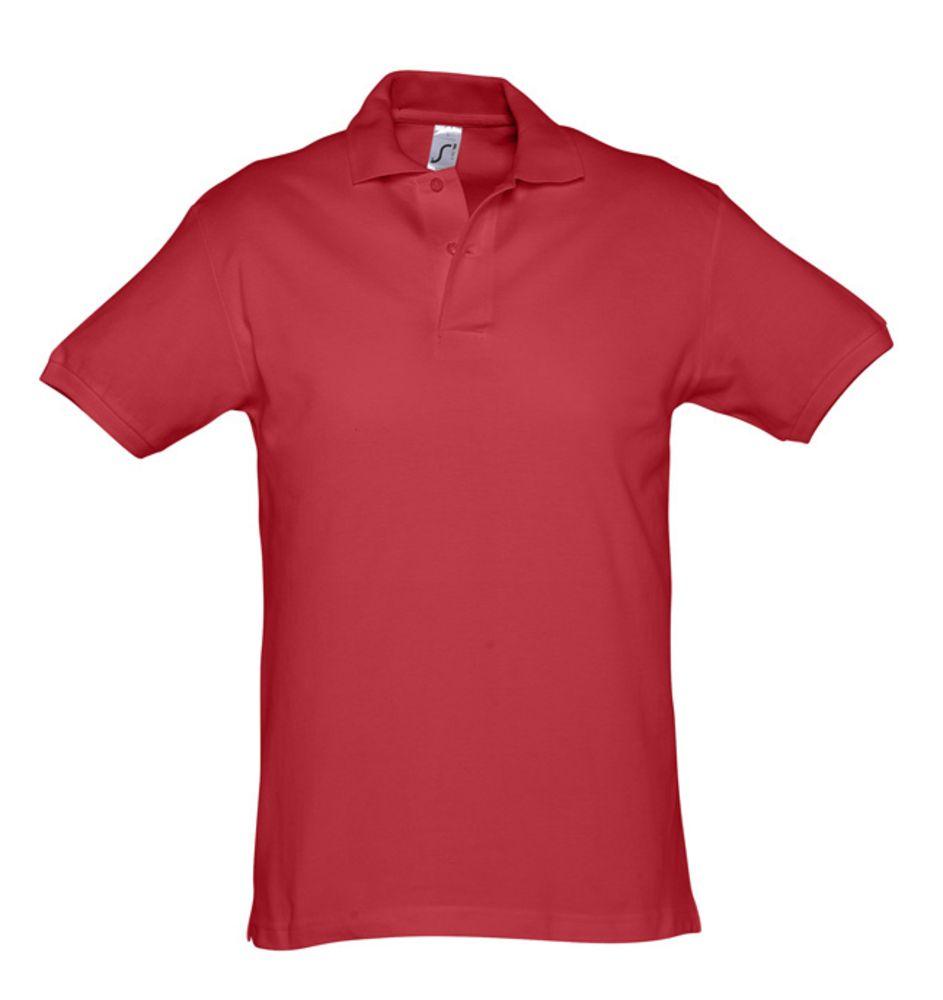 Рубашка поло мужская SPIRIT 240 красная