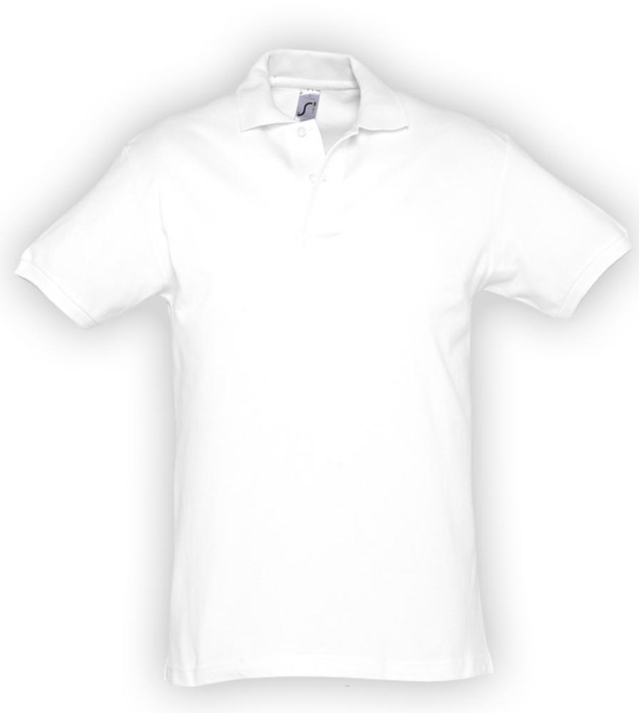 Рубашка поло мужская SPIRIT 240 белая