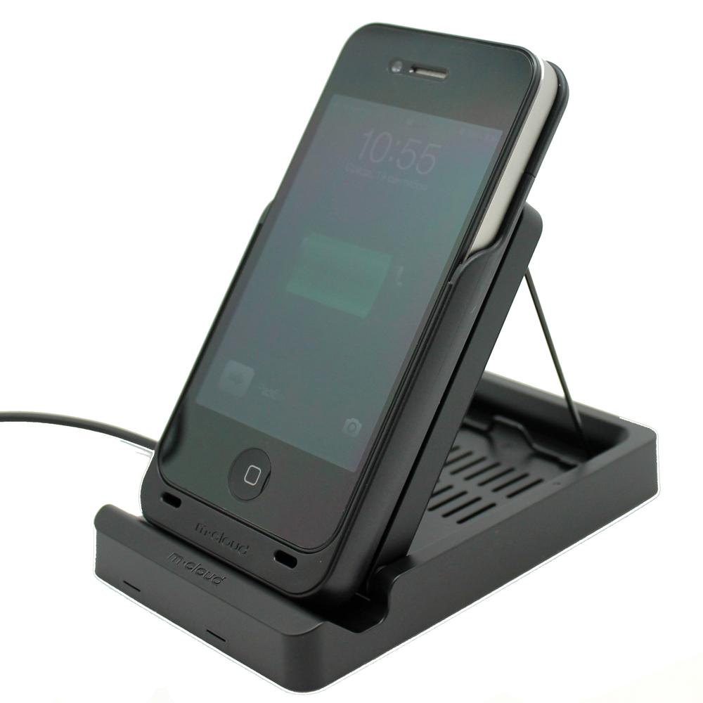 Беспроводное зарядное устройство m-cloud для iPhone 4/4S, черное