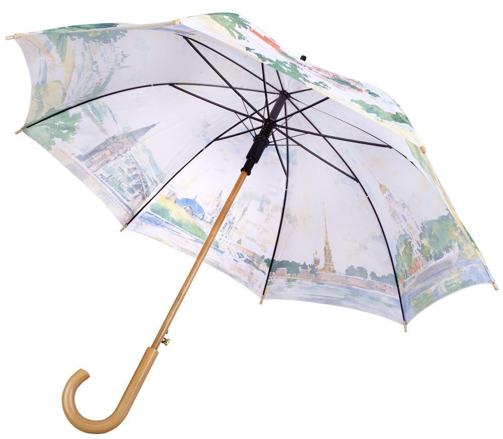 Зонт «Города России», белый
