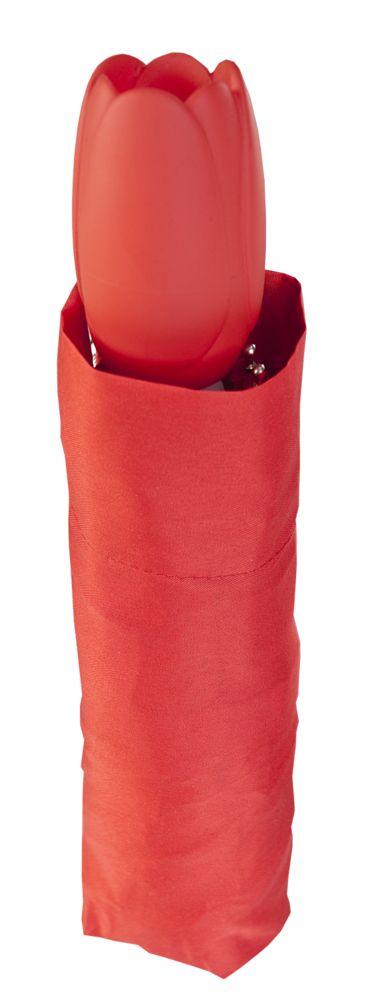 Зонт «Тюльпан», красный