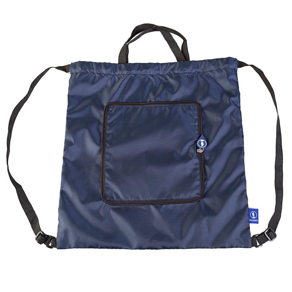 Рюкзак Arni, складной, синий