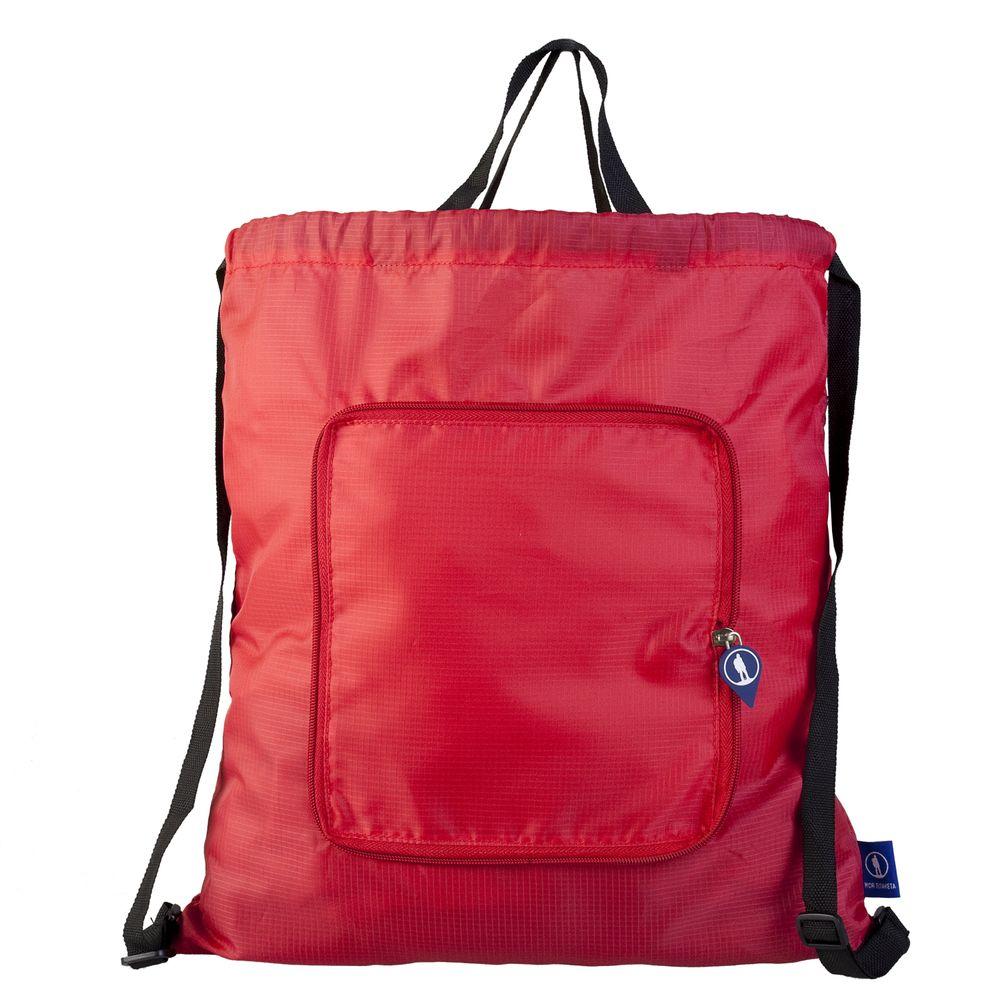 Рюкзак Arni, складной, красный