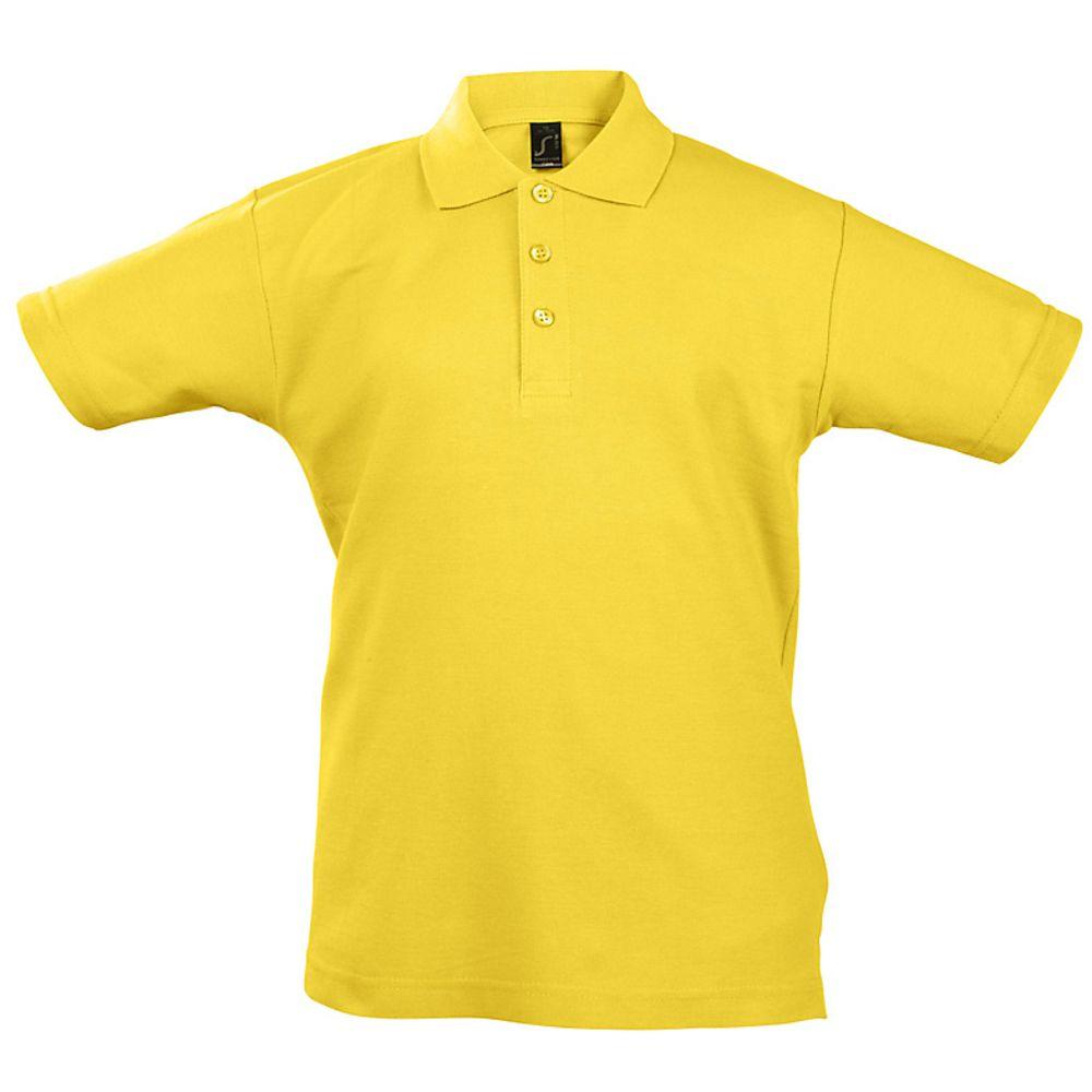 Рубашка поло детская Summer II Kids 170, желтая
