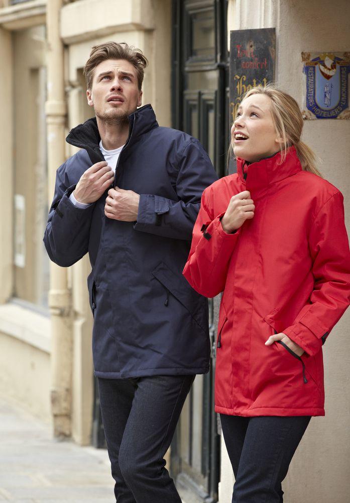 Куртка на стеганой подкладке River, красная