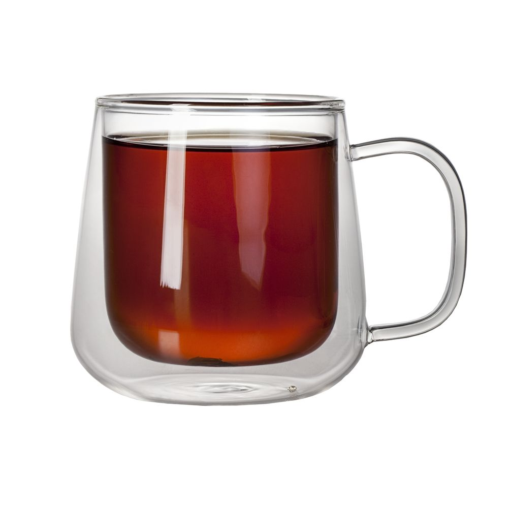 Чашка с двойными стенками Glass First
