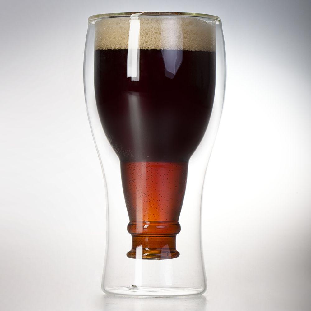 Стакан с двойными стенками Glass Beer