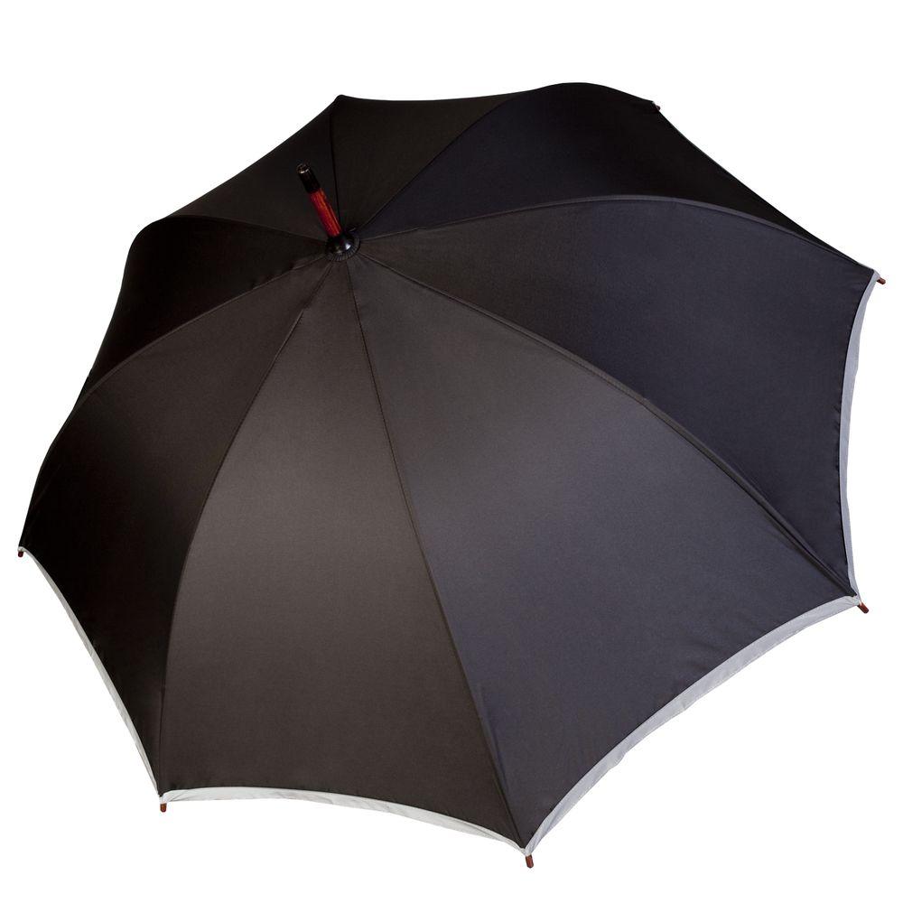 Зонт Unit Reflect, черный