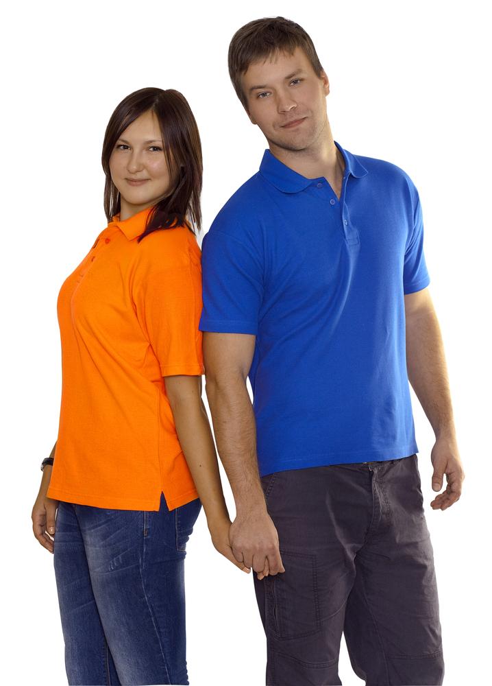 Рубашка поло Unit Virma, ярко-синяя