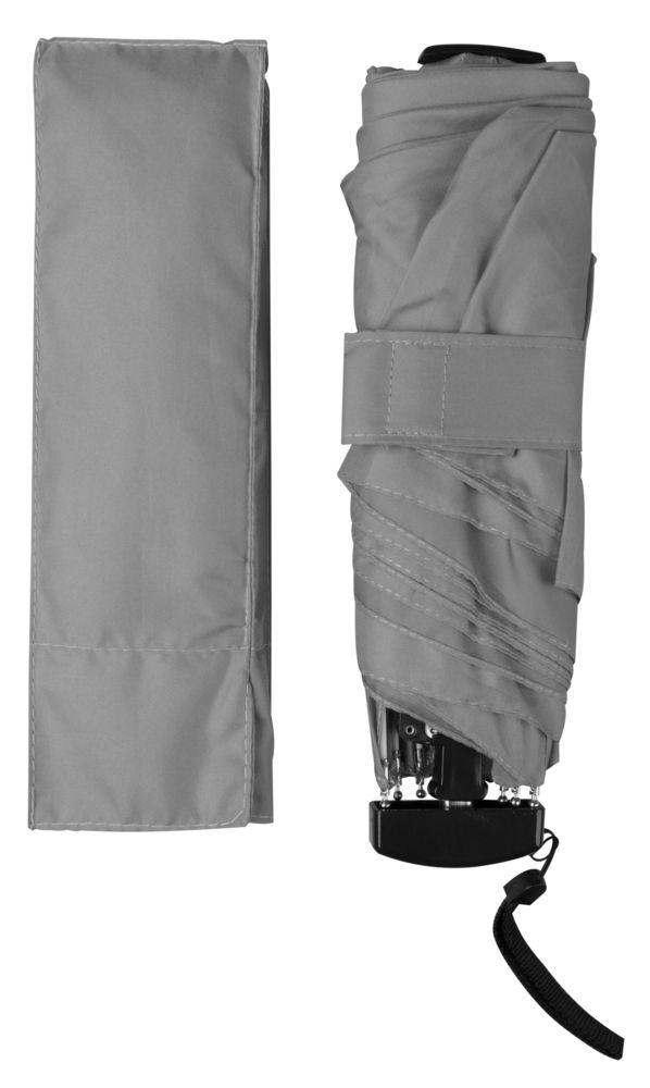 Зонт Unit Slim, серый