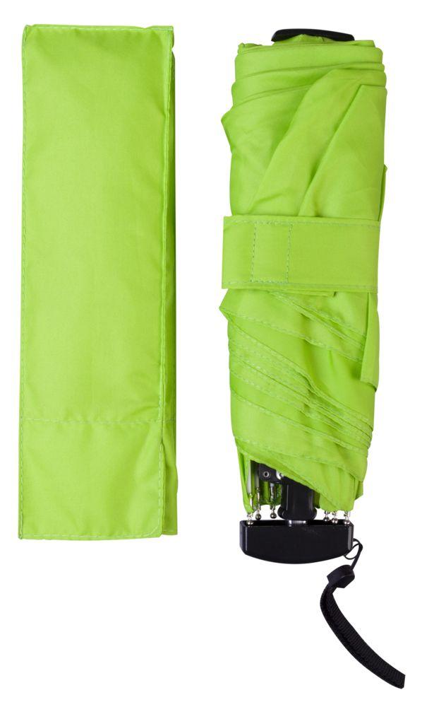 Зонт Unit Slim, зеленое яблоко