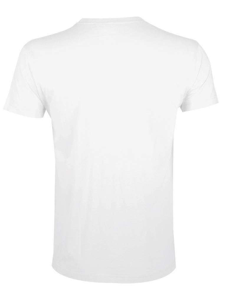 Футболка мужская приталенная REGENT FIT 150, белая