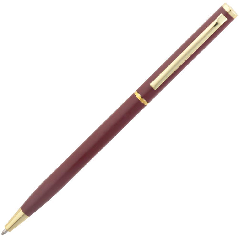 Ручка шариковая Hotel Gold, красная