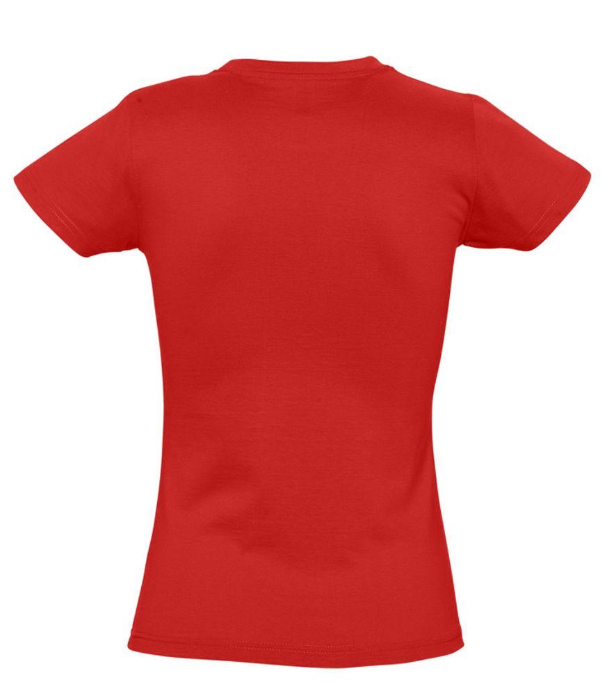Футболка женская Imperial women 190 красная