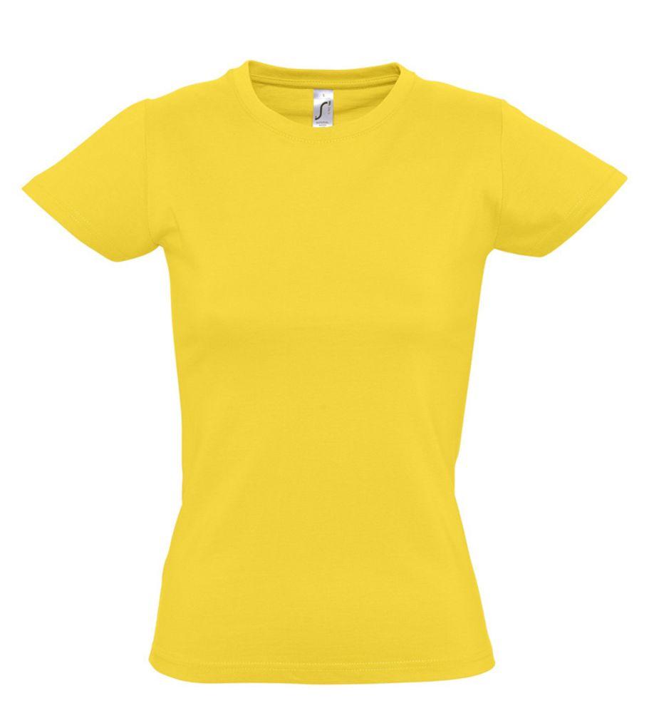 Футболка женская Imperial women 190 желтая