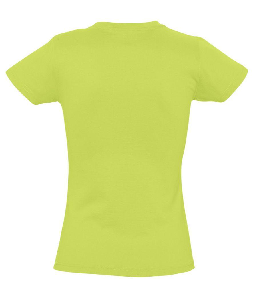 Футболка женская Imperial Women 190, зеленое яблоко