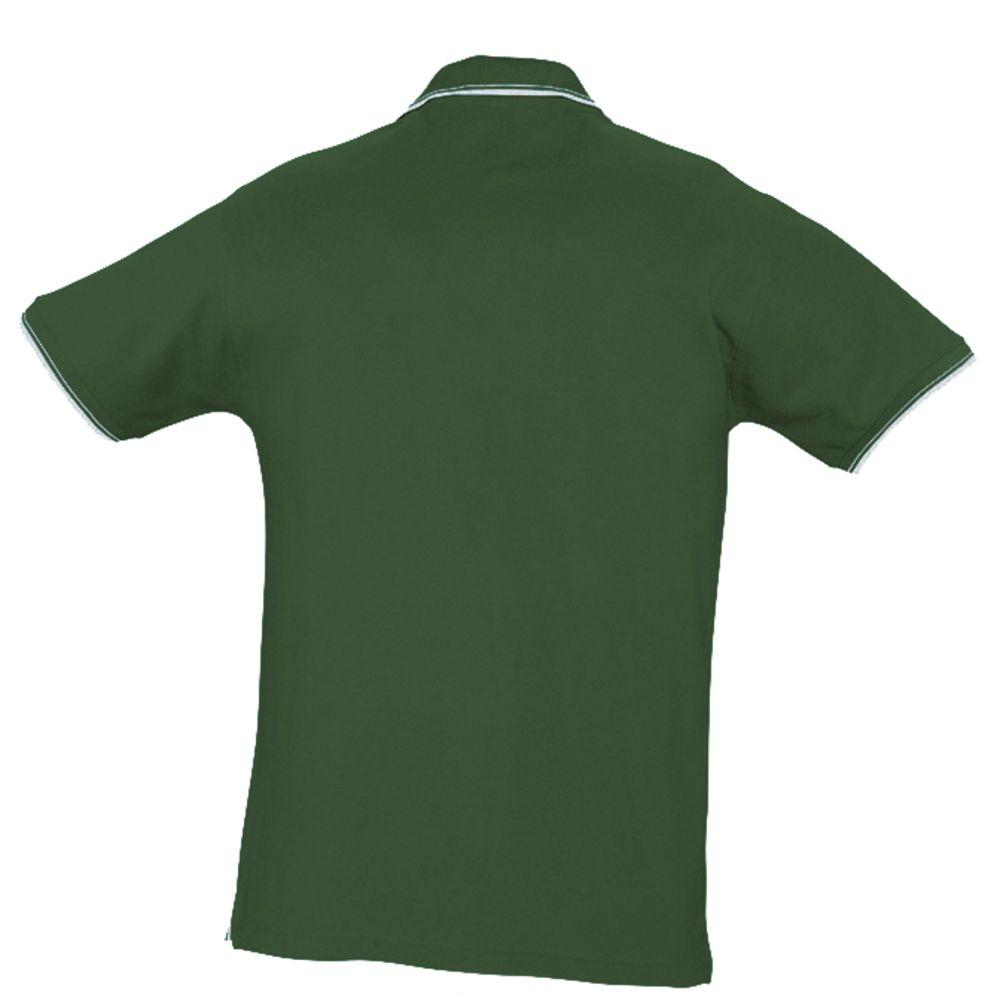 Рубашка поло женская Practice women 270 зеленая с белым
