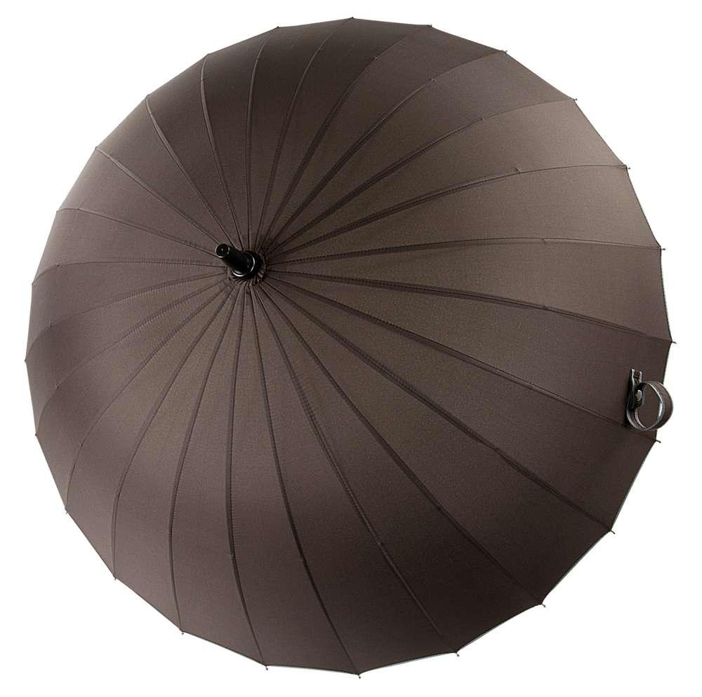 Зонт Ella, темно-коричневый