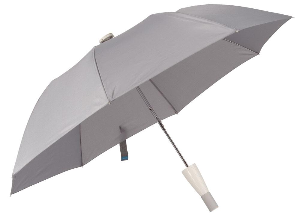 Зонт складной Smart, серый
