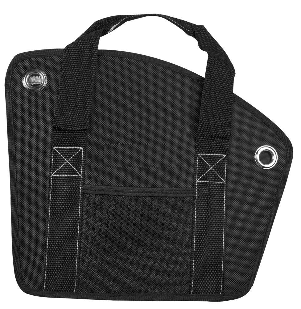 Складной органайзер в багажник Reporter, черный с серым