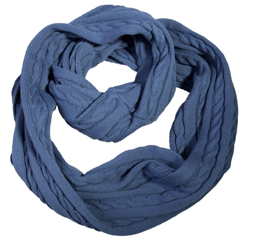 Шарф-снуд Comfort, синий