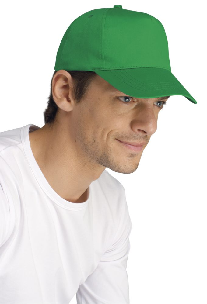 Бейсболка BUZZ, темно-зеленая