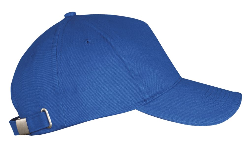 Бейсболка LONG BEACH, ярко-синяя