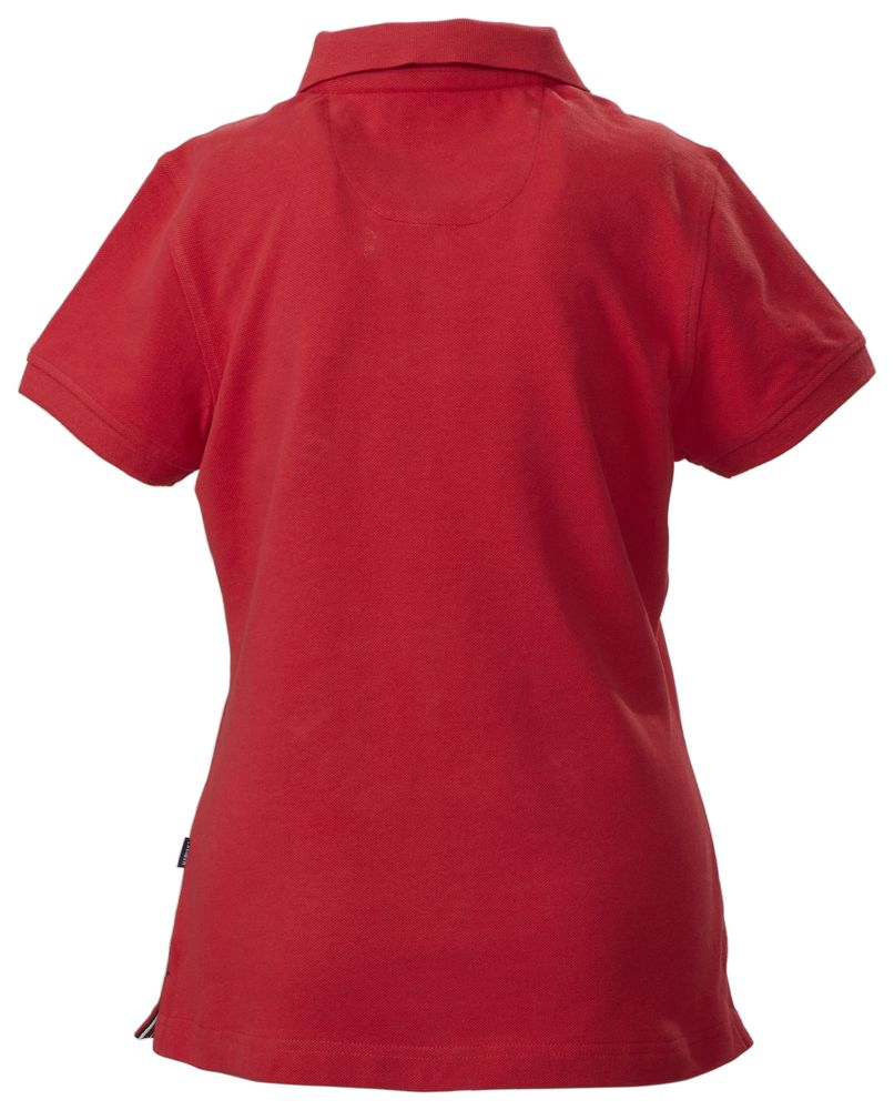 Рубашка поло женская AVON LADIES, красная