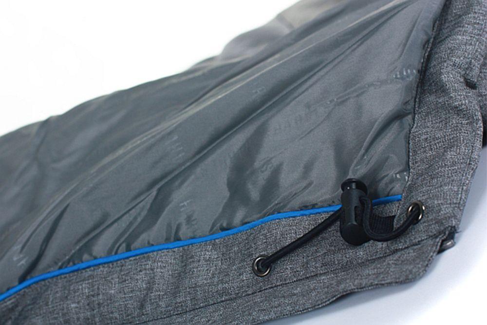 Куртка мужская JACKSON, черный меланж