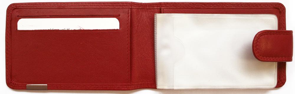 Футляр для визиток и кредитных карт «Эссен», красный